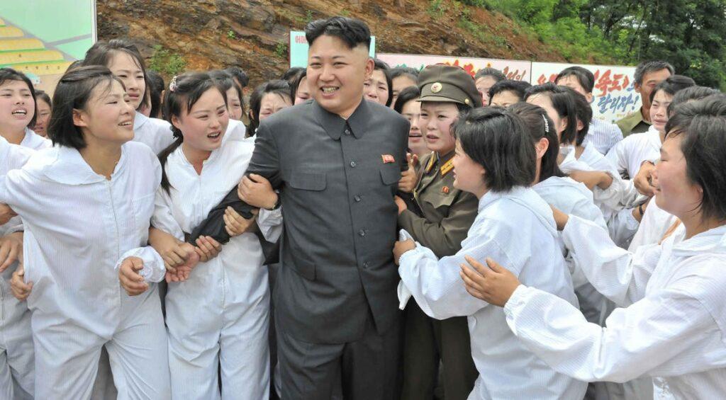 Kim i groupies czyli deifikacja korean style